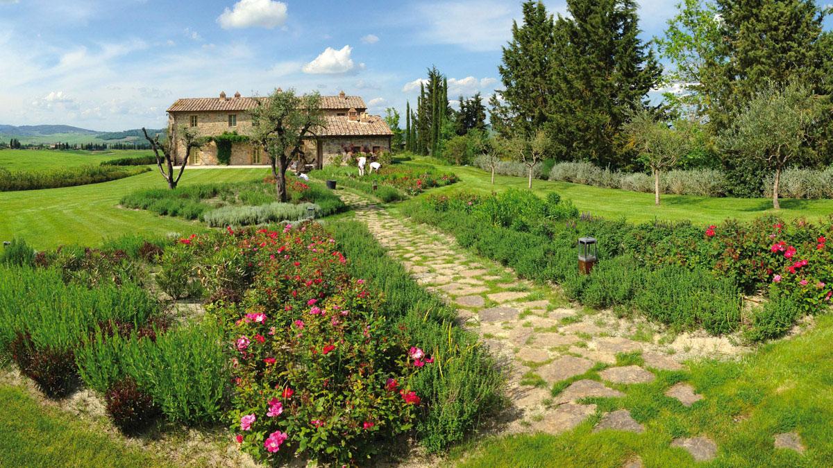 Entwürfe-von-Gärten-Toskana