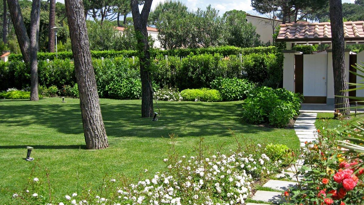 piccoli giardini realizzazione Toscana