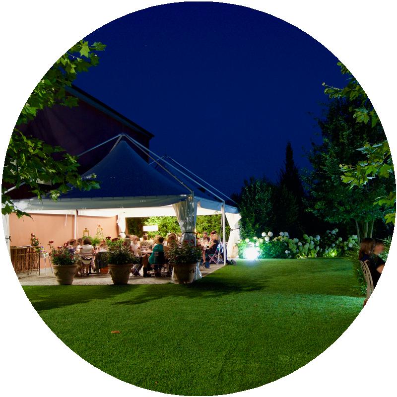Restaurant Toscana Fair-dîners-apéritifs en plein air