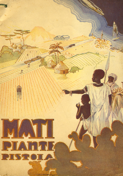 Plantes MATI Catalogue 1936 - 1937