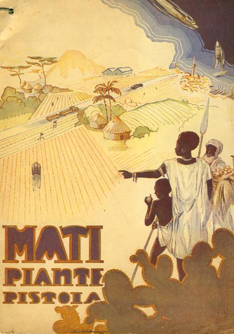Catalogo Piante Mati 1936 - 1937
