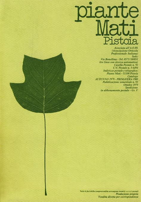 Растения MATI Каталог 1979 - 1980