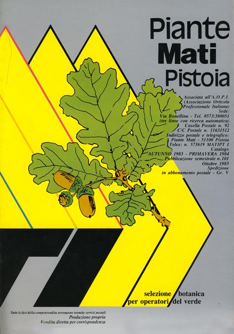 Растения MATI Каталог 1983 - 1984