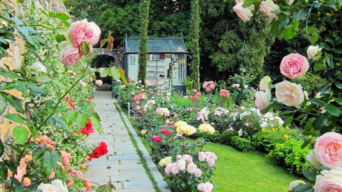 Kleingärten-Pistoia-Toskana