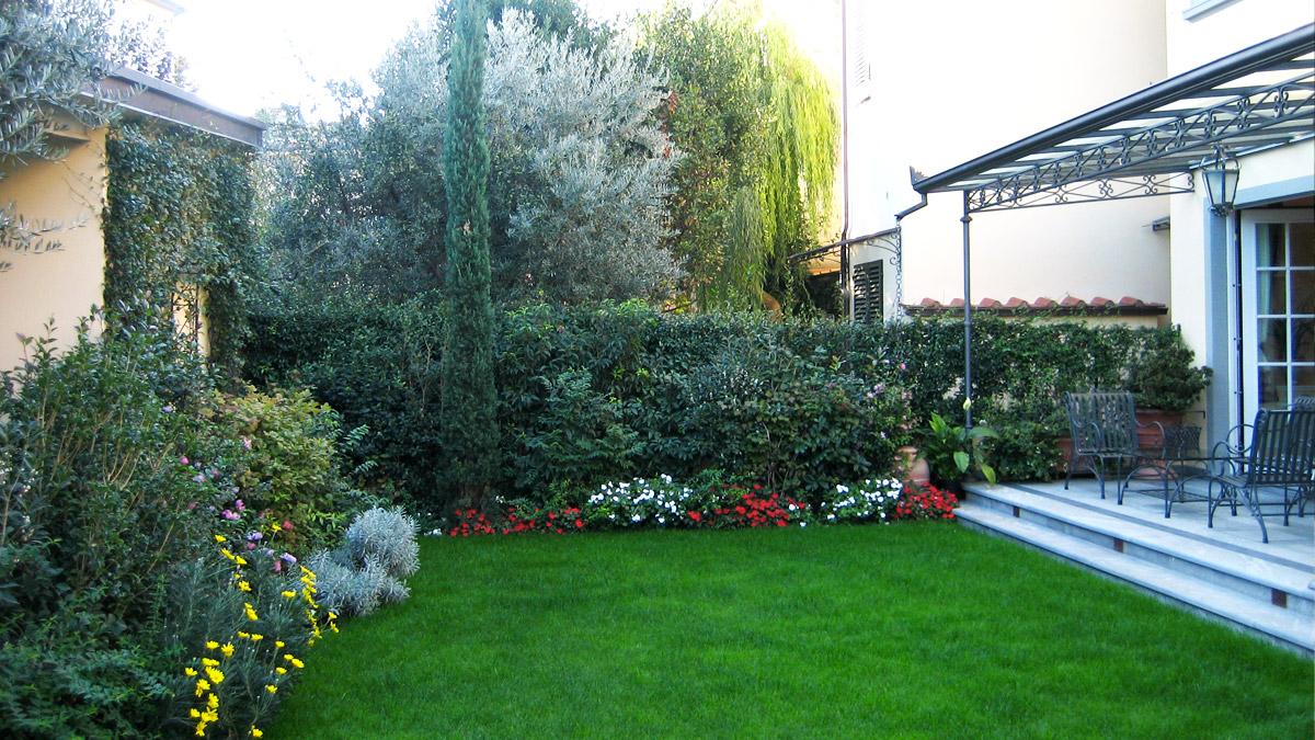 realizzazione giardini Pistoia Toscana