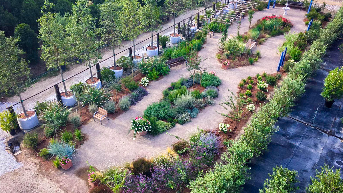 Alzheimer's-therapeutic-garden-design