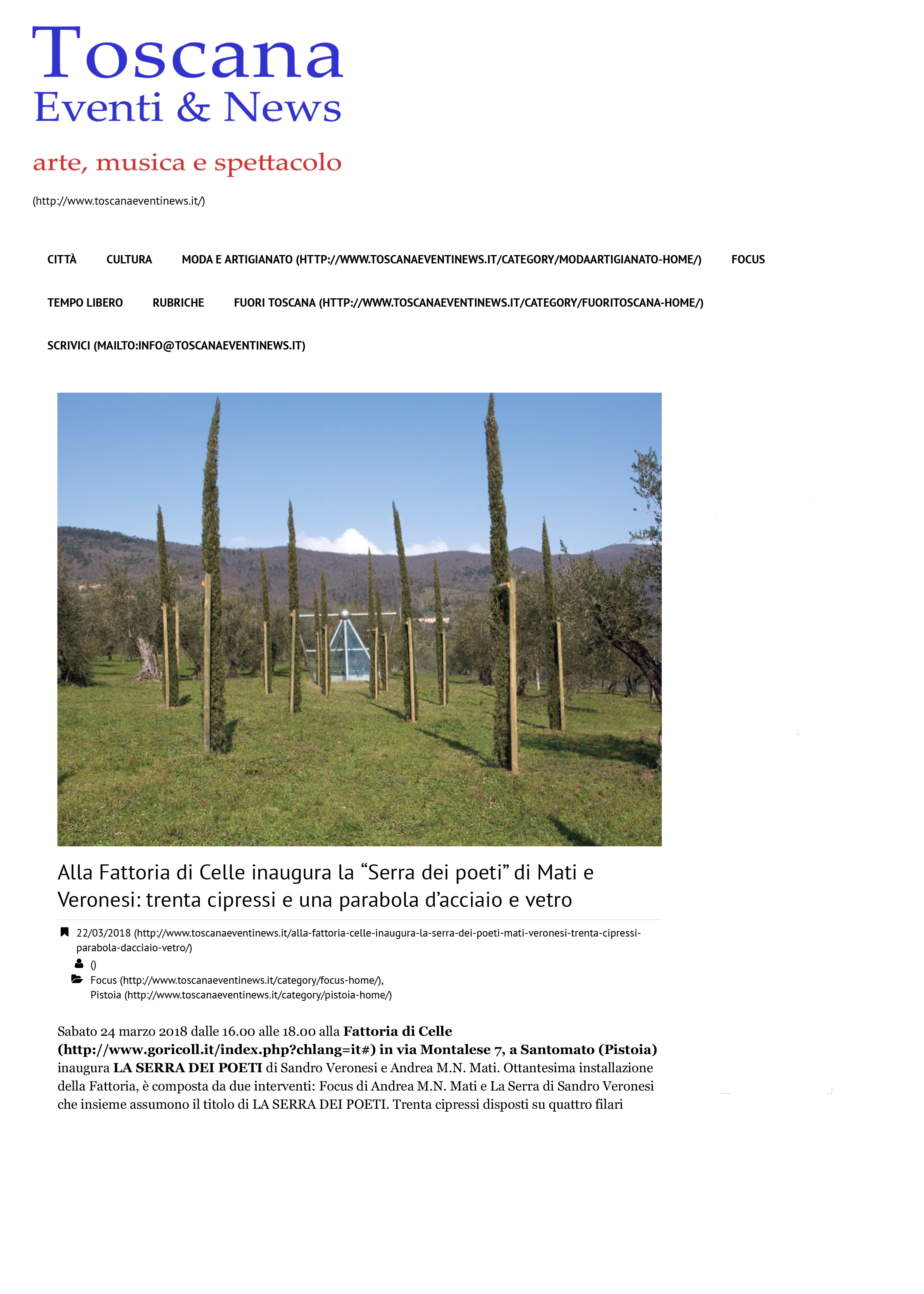 Toscana-Eventi