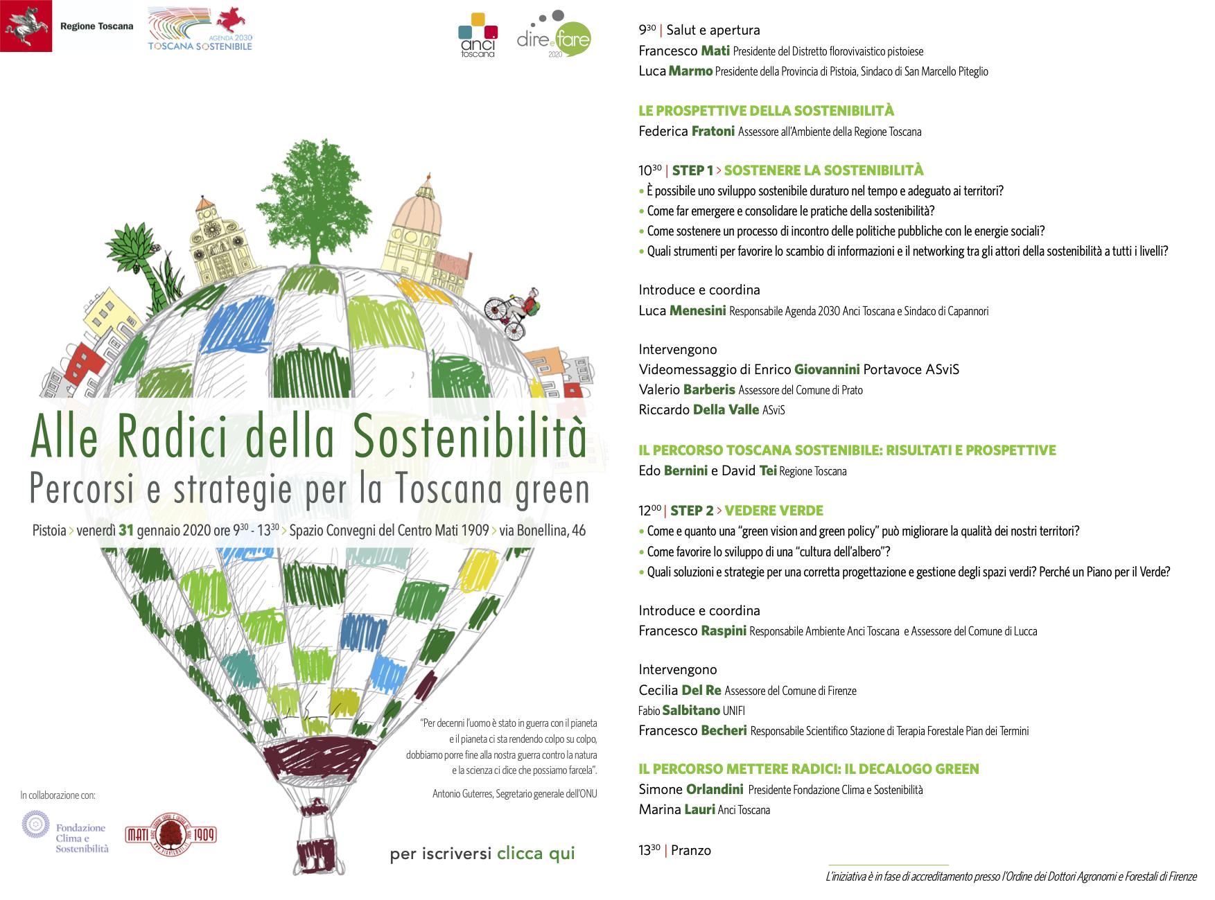 Alle Radici della Sostenibilita_programma